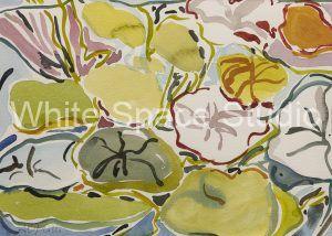 Sea Grapes Key West Three Sails Key West Arlene Black Mollo Watercolor Artwork